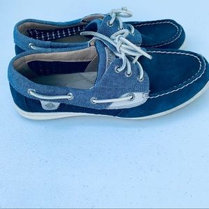 Sperry Blue Jean Color Loafers Size 9.5
